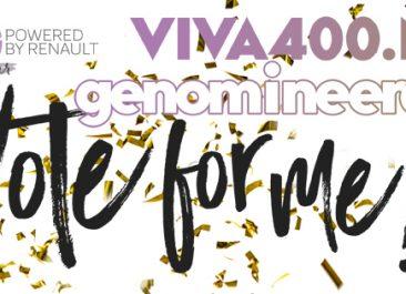 Joyce Knappe nominatie VIVA400 Wereldverbeteraar